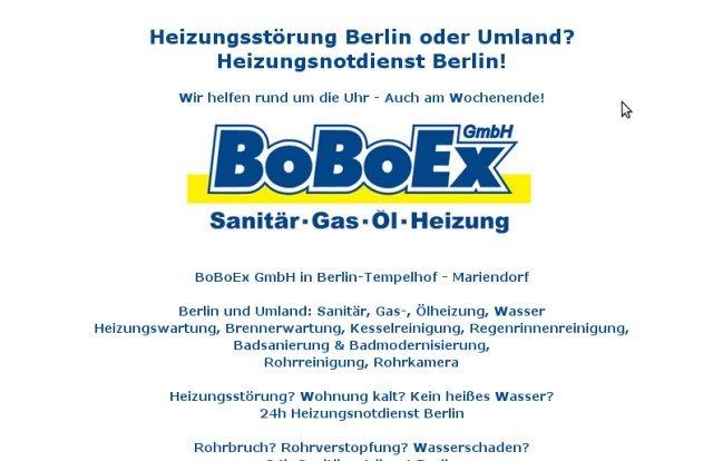 boboex heizung sanit r und rohrreinigung berlin kreuzberg. Black Bedroom Furniture Sets. Home Design Ideas